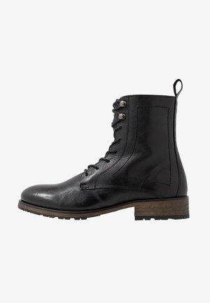 MATTHEW - Bottines à lacets - black