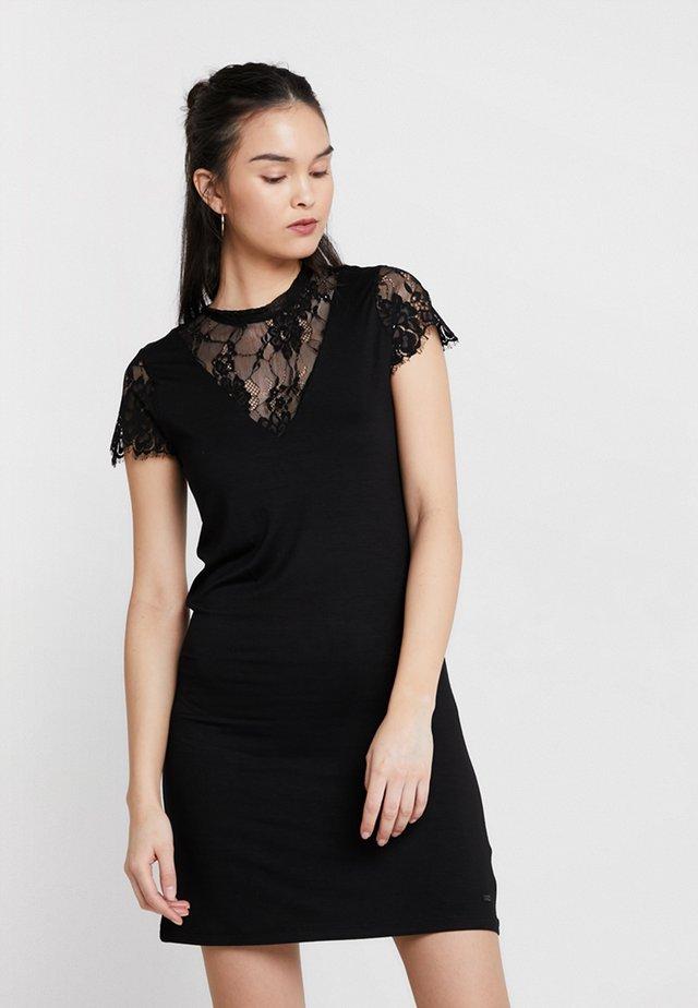 NALIA - Žerzejové šaty - black