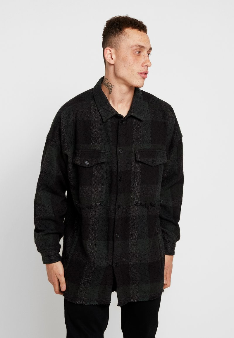 Tigha - IKER - Skjorter - black/night meadow