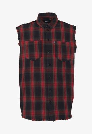 LIAN - Camisa - black/red