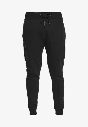 LEONAS - Pantalon de survêtement - black