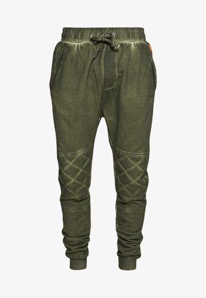 EINAR - Tracksuit bottoms - military green