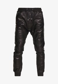Tigha - ELRIC - Leather trousers - black - 5