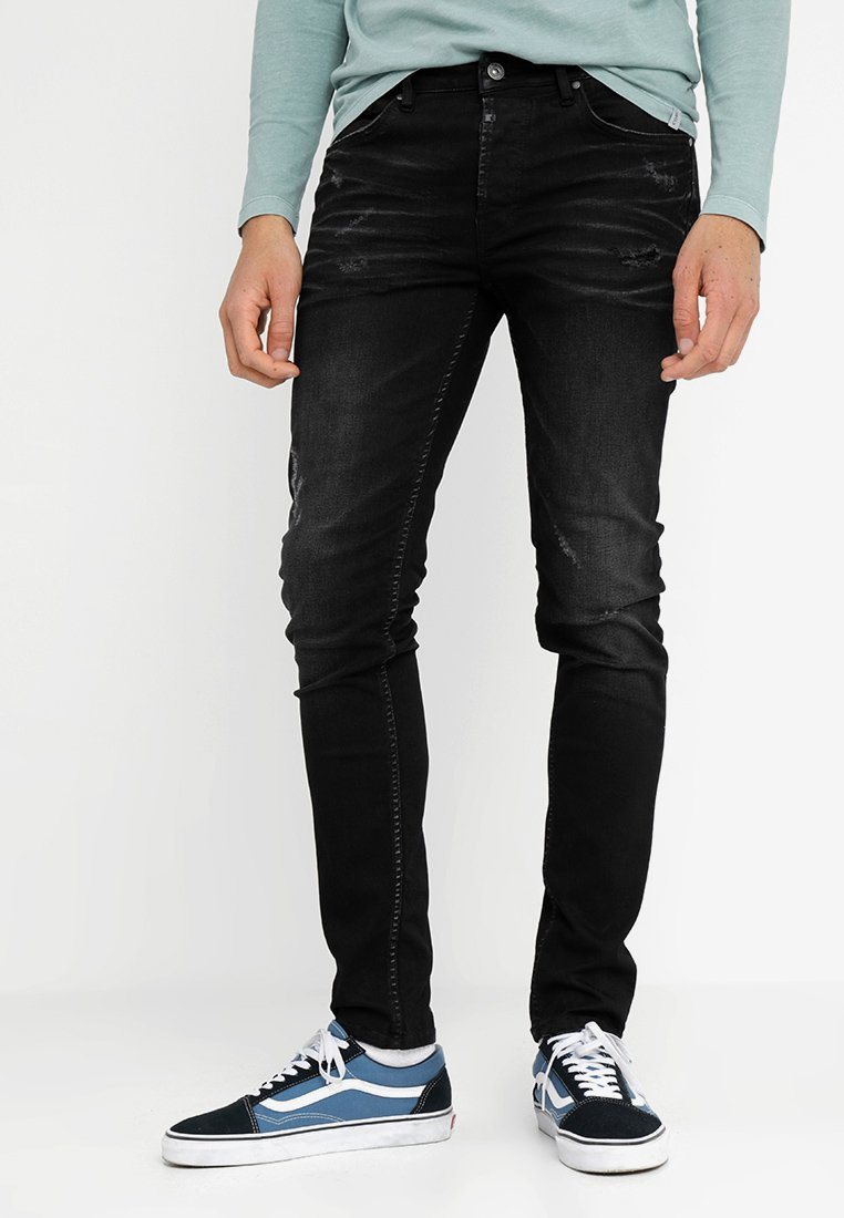 Tigha - MORTY - Jeans Skinny Fit - vintage black