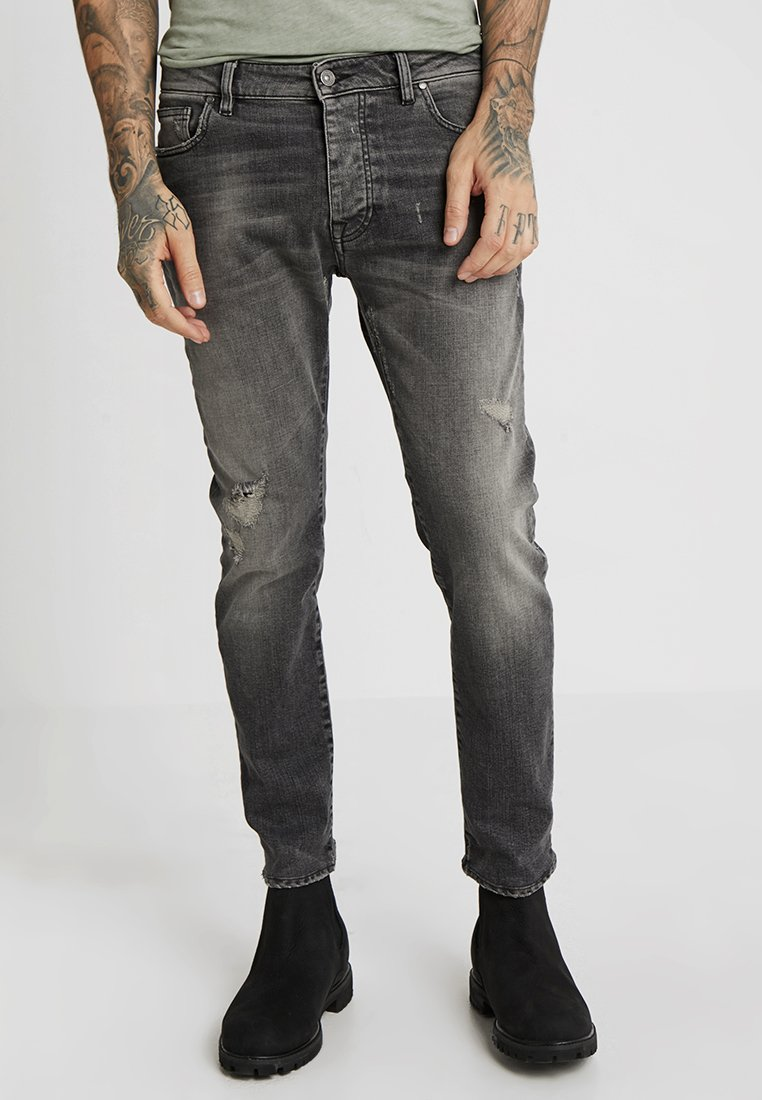 Tigha - BOE REPAIRED - Jeans Slim Fit - vintage dark grey
