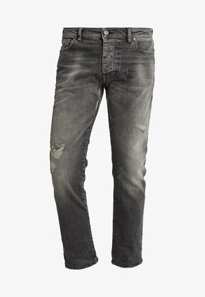 BOE REPAIRED - Jeans slim fit - vintage dark grey
