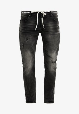 BILLY THE KID PATCHED - Jeans slim fit - dark grey