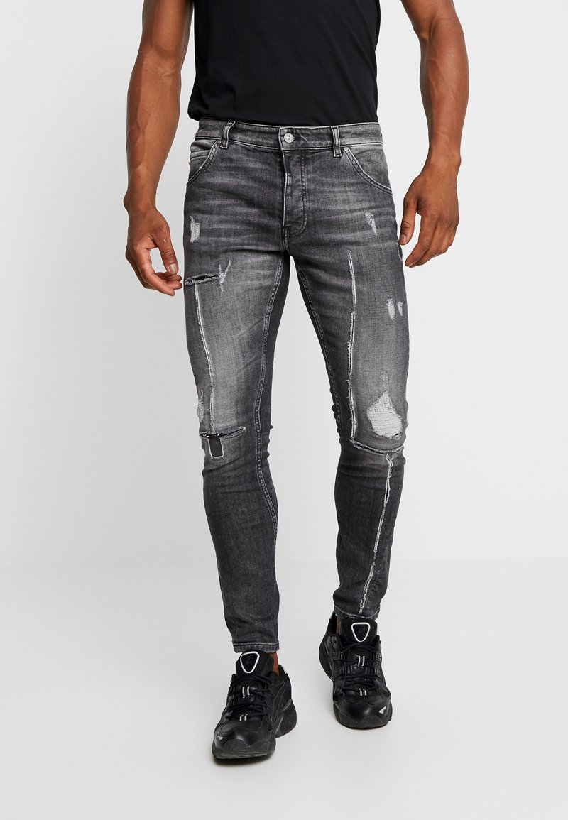 Tigha - BILLY THE KID - Jeans Slim Fit - mid grey