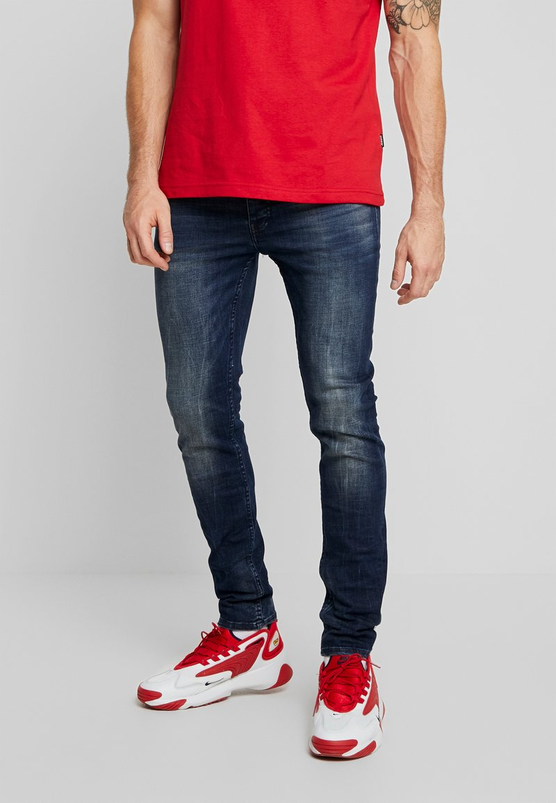 Tigha - MORTY - Jeans Skinny Fit - mid blue