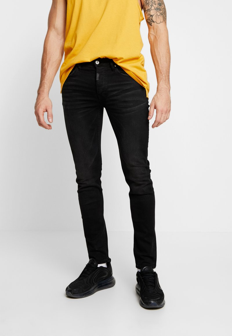 Tigha - MORTY - Jeans Skinny Fit - black