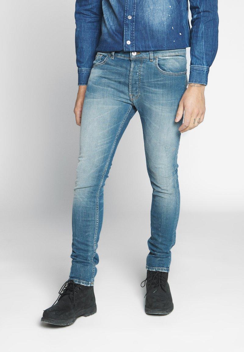 Tigha - MORTEN 9971  - Džíny Slim Fit - vintage mid blue