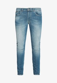 Tigha - MORTEN 9971  - Džíny Slim Fit - vintage mid blue - 4