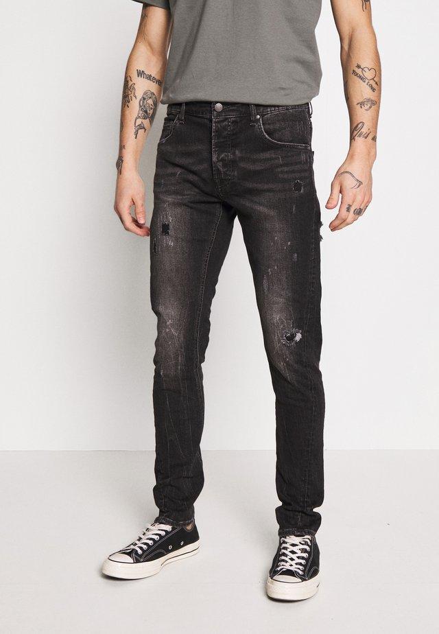 BILLY THE KID - Slim fit jeans - dark grey