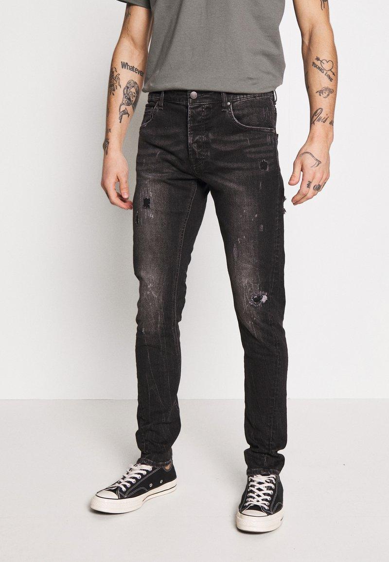 Tigha - BILLY THE KID - Slim fit jeans - dark grey