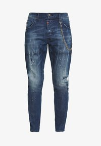 Tigha - BILLY THE KID REPAIRED - Jeans slim fit - mid blue - 3