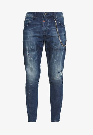 BILLY THE KID REPAIRED - Jean slim - mid blue
