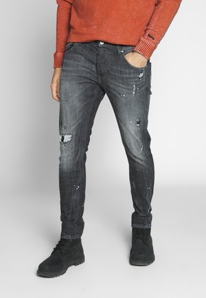 BILLY THE KID REPAIRED - Jeans slim fit - vintage black
