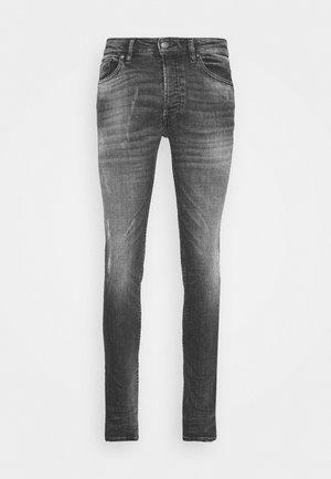 MORTEN DESTROYED - Jeans Skinny - darkgrey