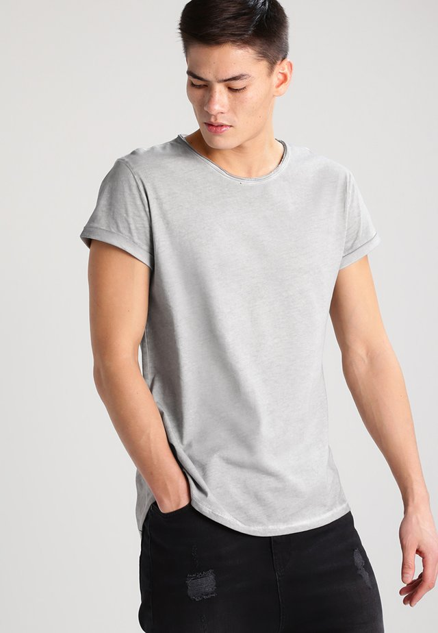 MILO - T-Shirt basic - vintage silver grey