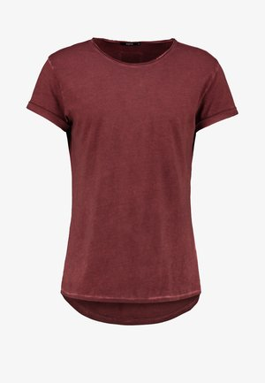 MILO - T-shirt basic - vintage rust red