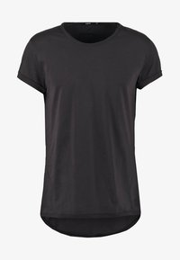 Tigha - MILO - Basic T-shirt - black - 4
