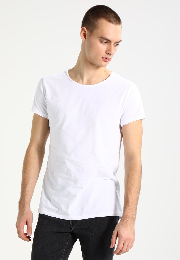 Tigha - WREN - T-shirt basic - white