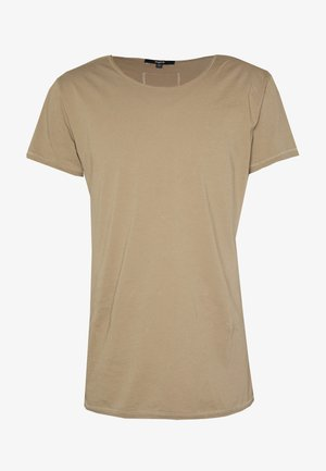 WREN - Basic T-shirt - dark sand