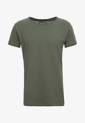WREN - T-shirt basic - military green