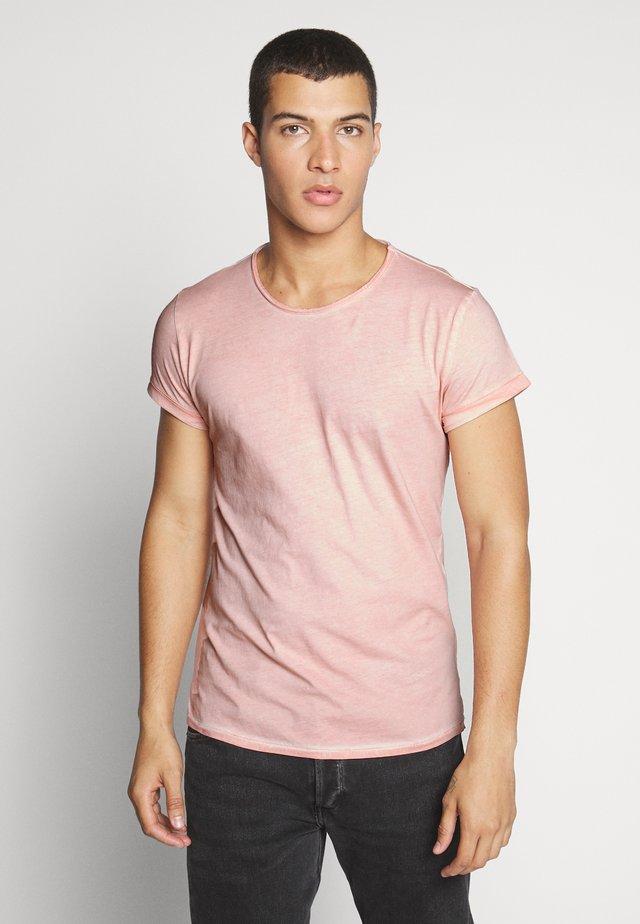 MILO - Basic T-shirt - vintage blush