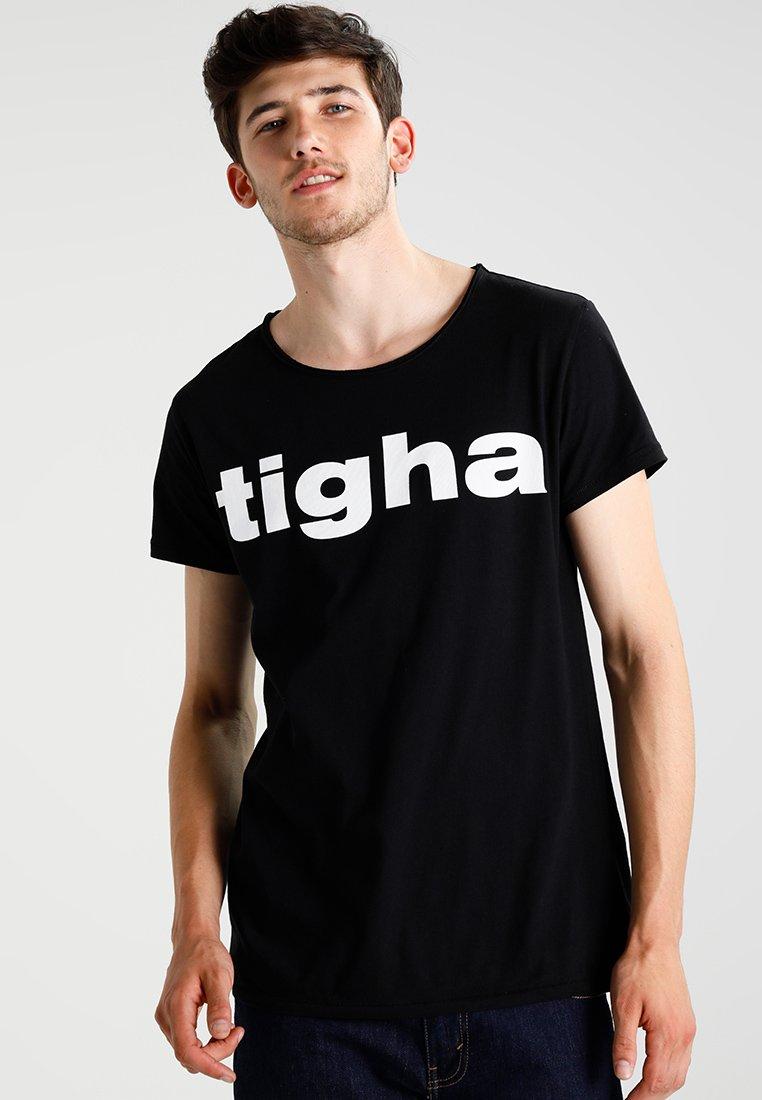 Tigha - LOGO - T-shirts print - black