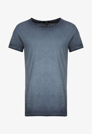 VITO SLUB - Print T-shirt - navy blue