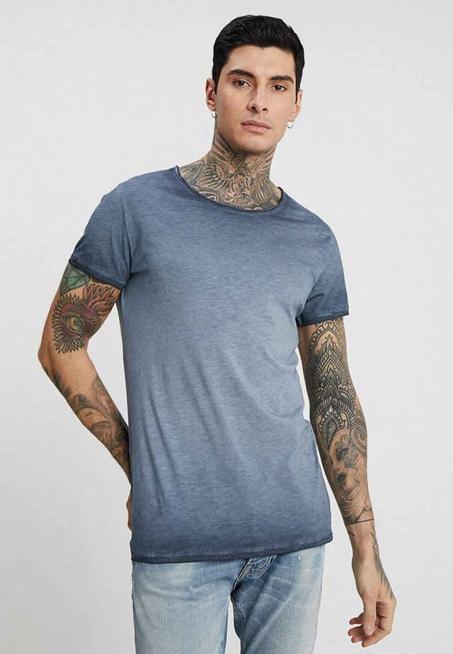 VITO SLUB - T-shirt med print - navy blue