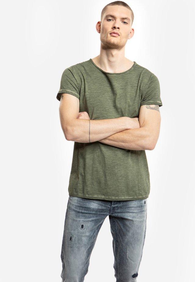 VITO SLUB - Basic T-shirt - vintage military green