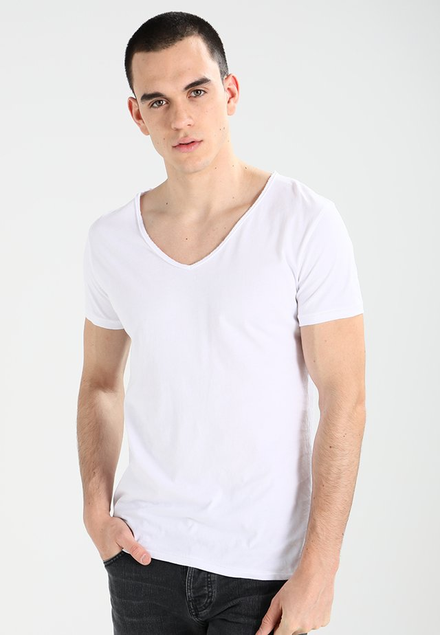 MALIK - T-Shirt basic - white