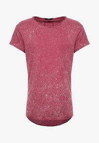 Tigha - MILO SPRAY - T-shirts med print - vintage red steam - 4