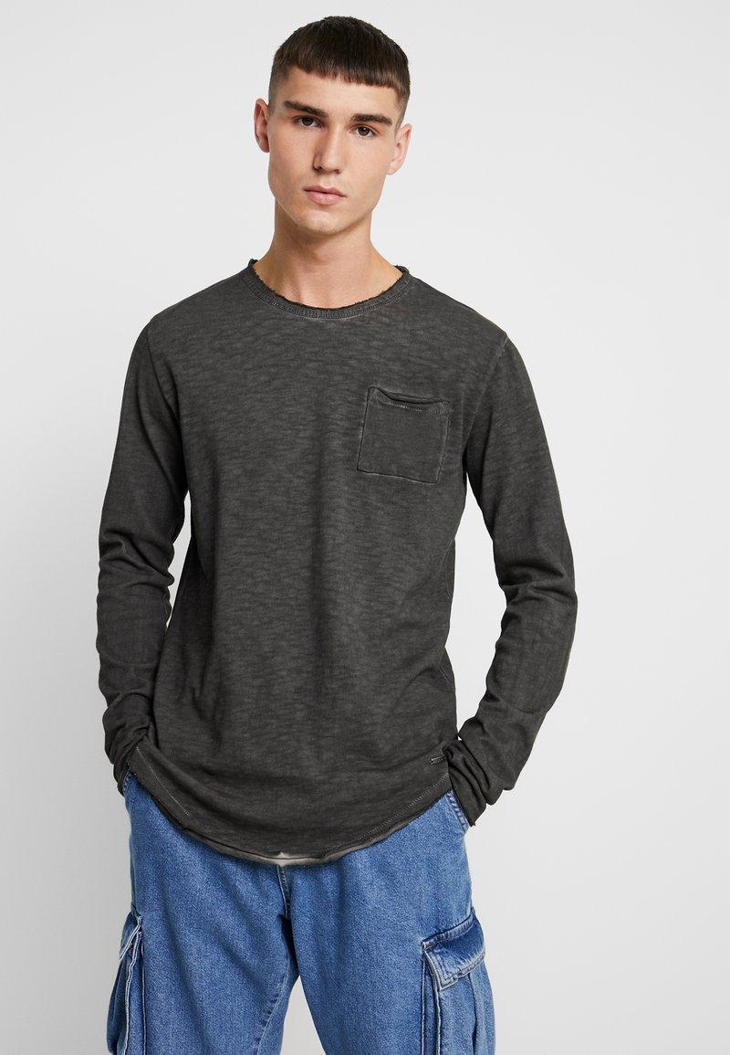 Tigha - CHIBS - Long sleeved top - vintage grey