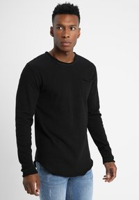 Tigha - CHIBS - Long sleeved top - black - 0