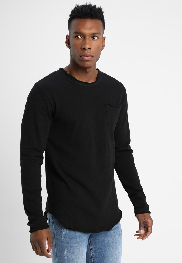 Tigha - CHIBS PILLING - Strickpullover - black