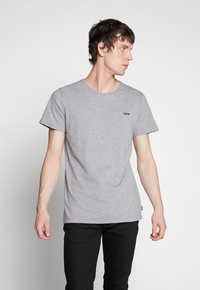 HEIN - T-shirts basic - grey melange