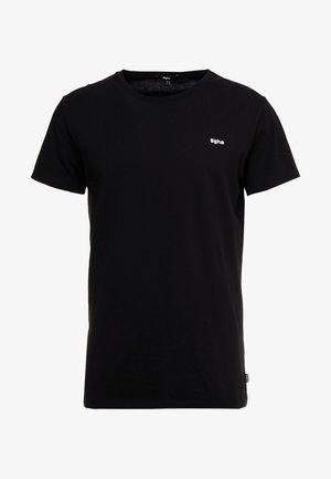 HEIN - Jednoduché triko - black