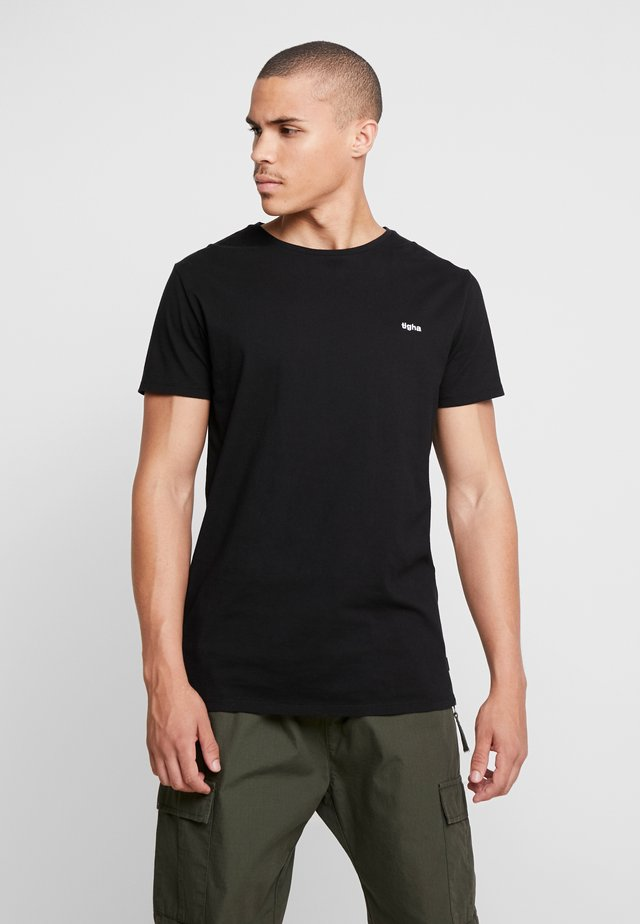 HEIN - T-Shirt basic - black