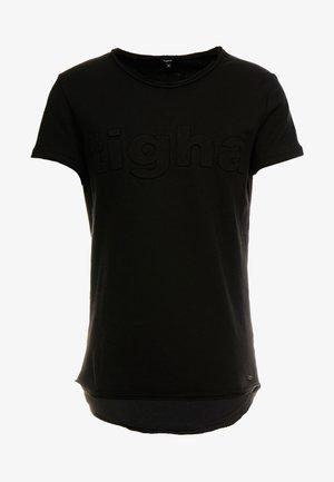 MILO LOGO - T-shirt z nadrukiem - black