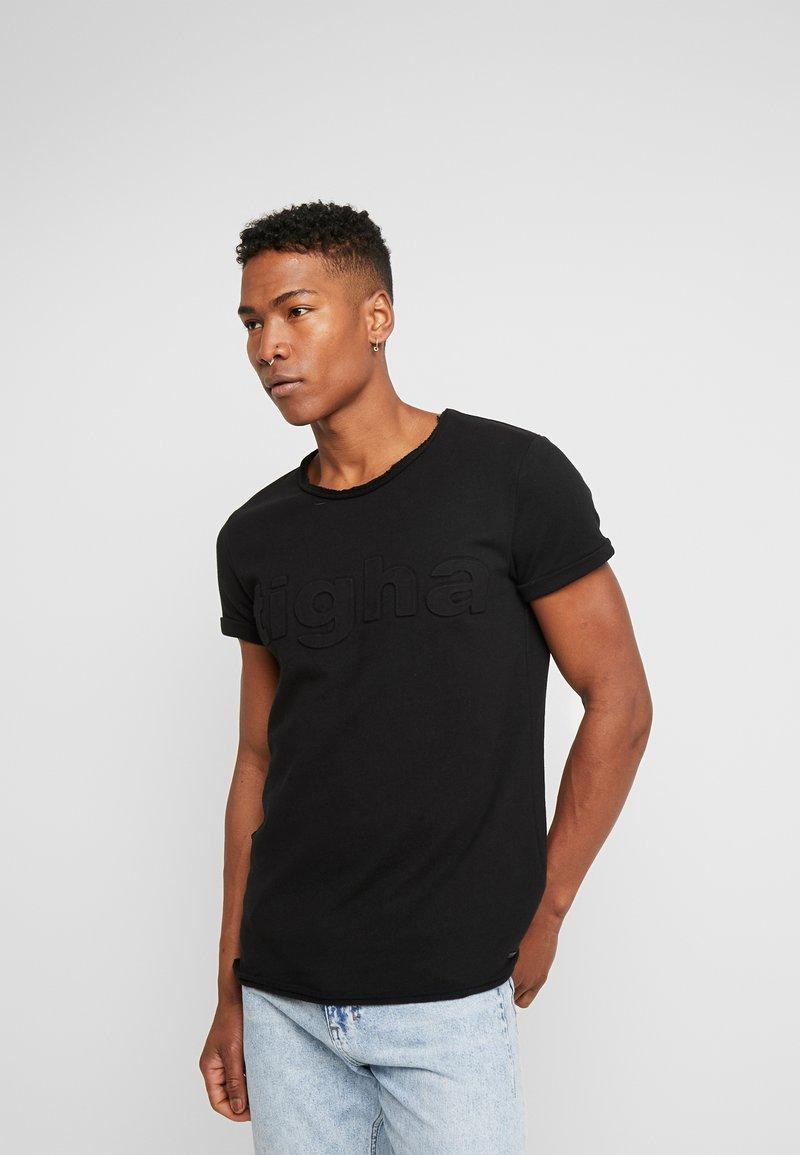 Tigha - MILO LOGO - T-shirts print - black