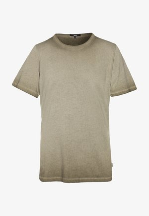 LAFAN - T-shirt con stampa - vintage oily green
