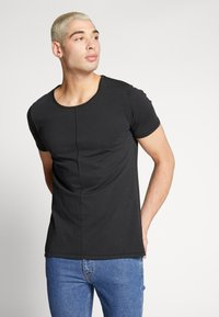Tigha - ELIANO - Camiseta básica - black - 0
