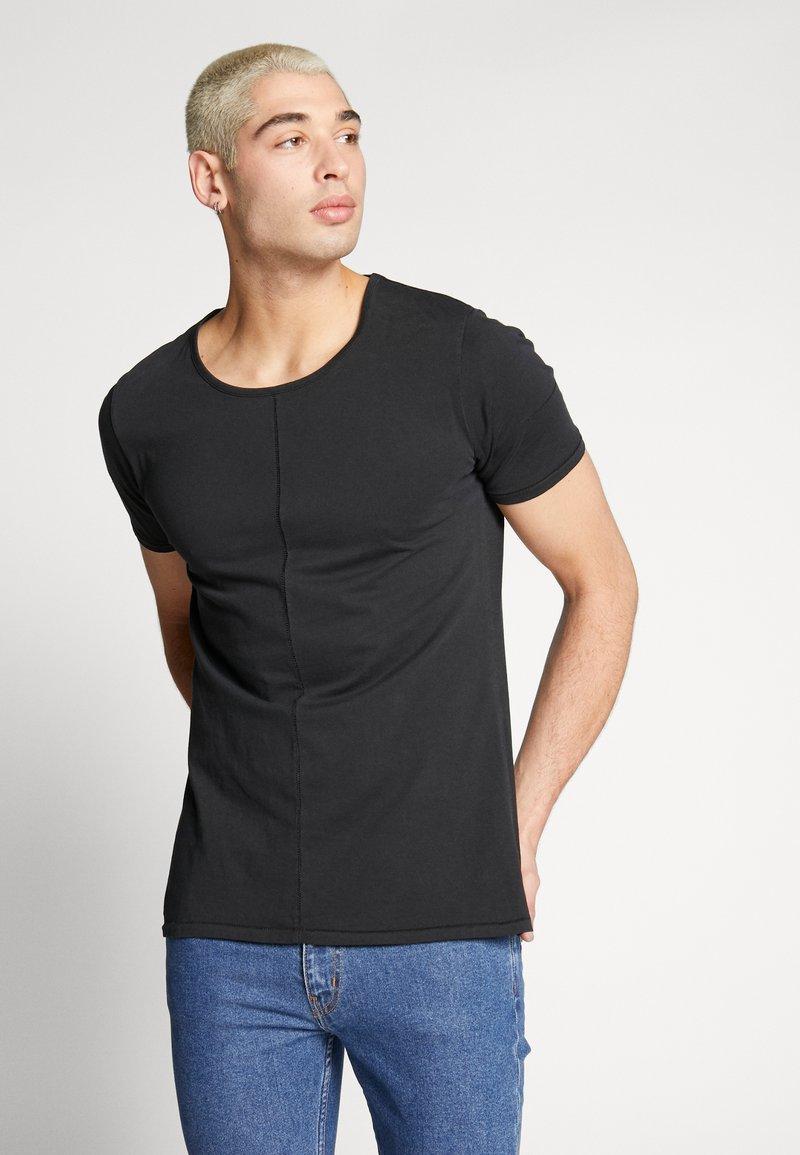 Tigha - ELIANO - Camiseta básica - black
