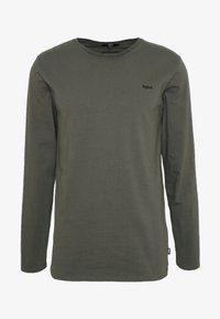Tigha - HEIN LONG SLEEVE - Topper langermet - military green - 5