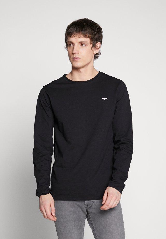 HEIN LONG SLEEVE - T-shirt à manches longues - black
