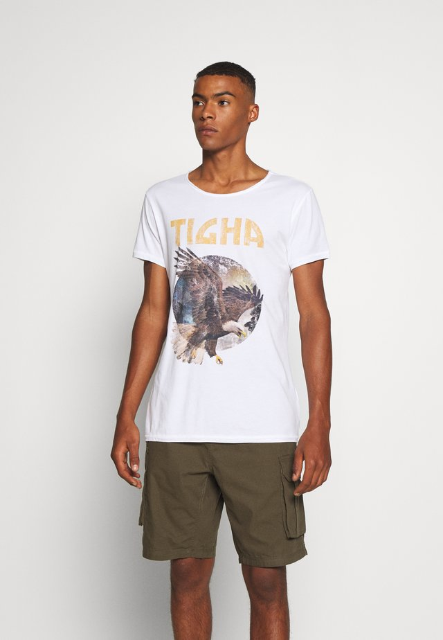 EAGLE WREN - T-shirt con stampa - white