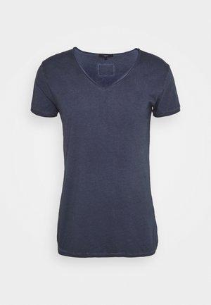MAIK - Jednoduché triko - vintage midnight blue
